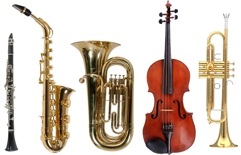 Brass-Band-Instrument-PNG-File